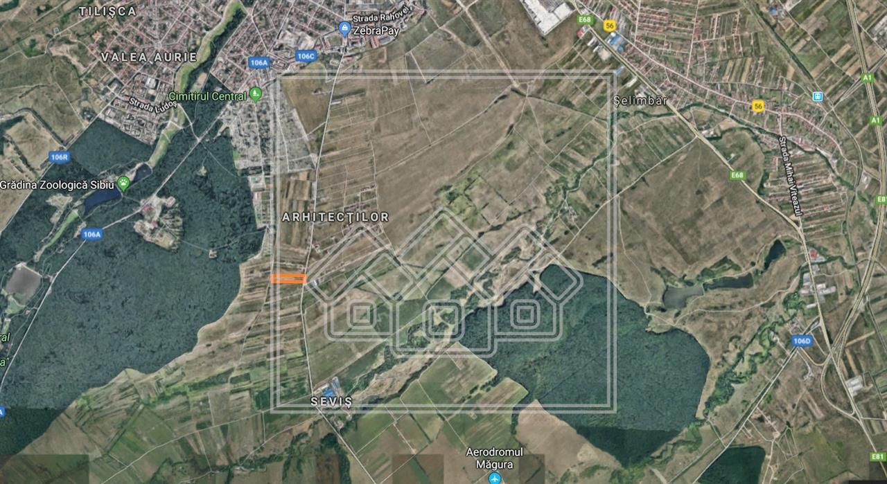 Teren de vanzare in Sibiu - Calea Cisnadiei - Intravilan - 1750 mp