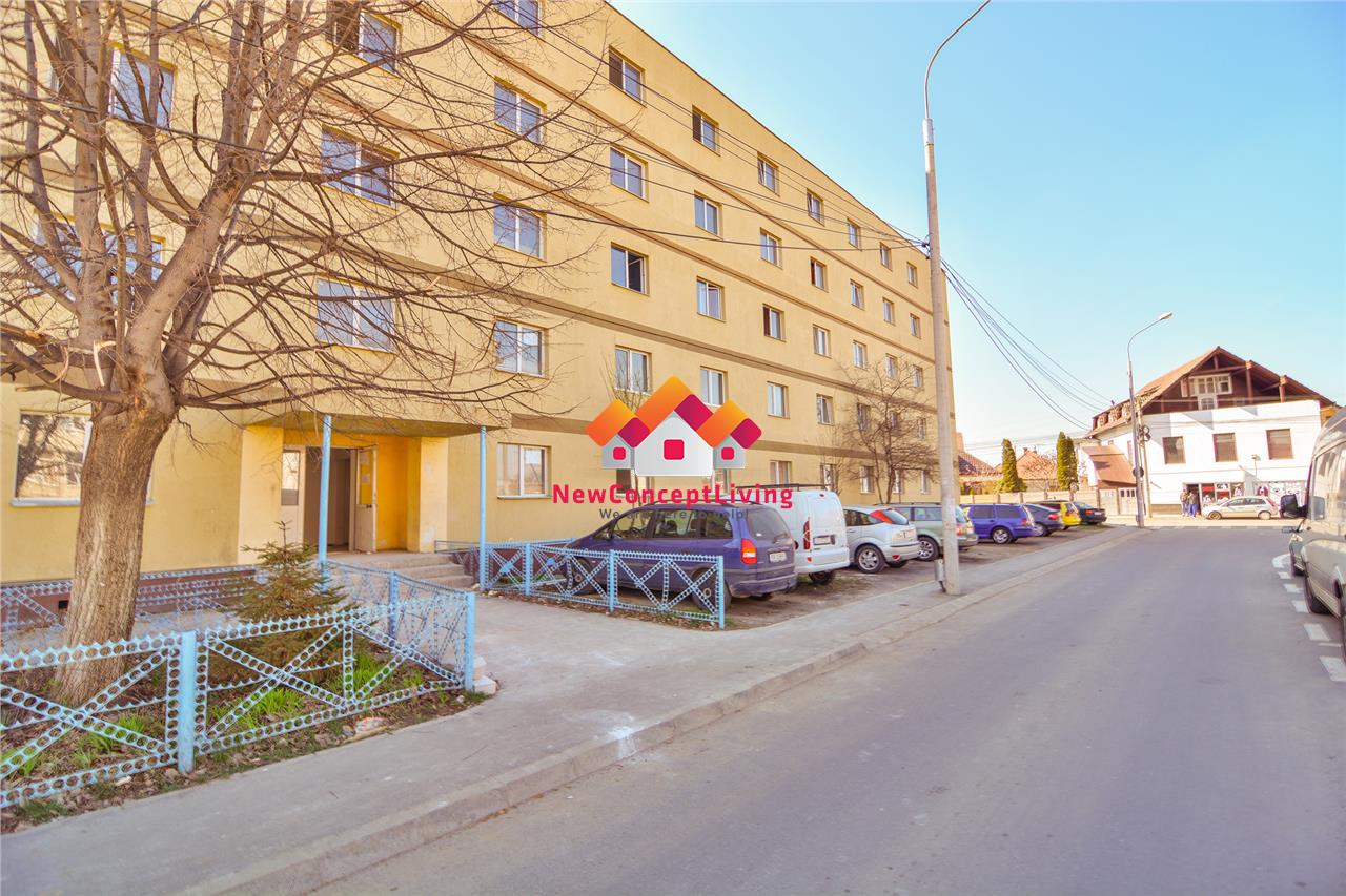 Garsoniera de vanzare in Sibiu - recent renovata - zona Vasile Aaron