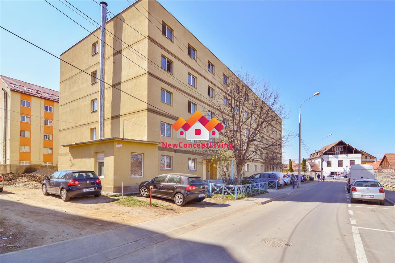 Garsoniera de vanzare in Sibiu - predare la alb - zona Vasile Aaron