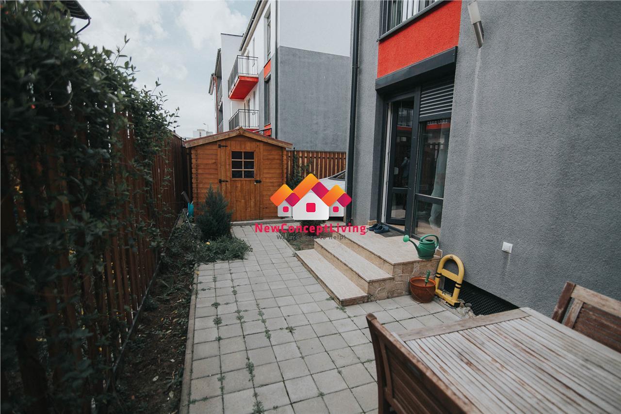 Apartament de vanzare in Sibiu - 3 camere - cu gradina - la cheie