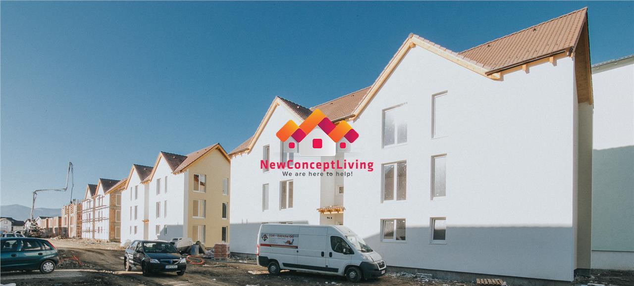 Apartament de vanzare in Sibiu - 3 camere - gradina proprie