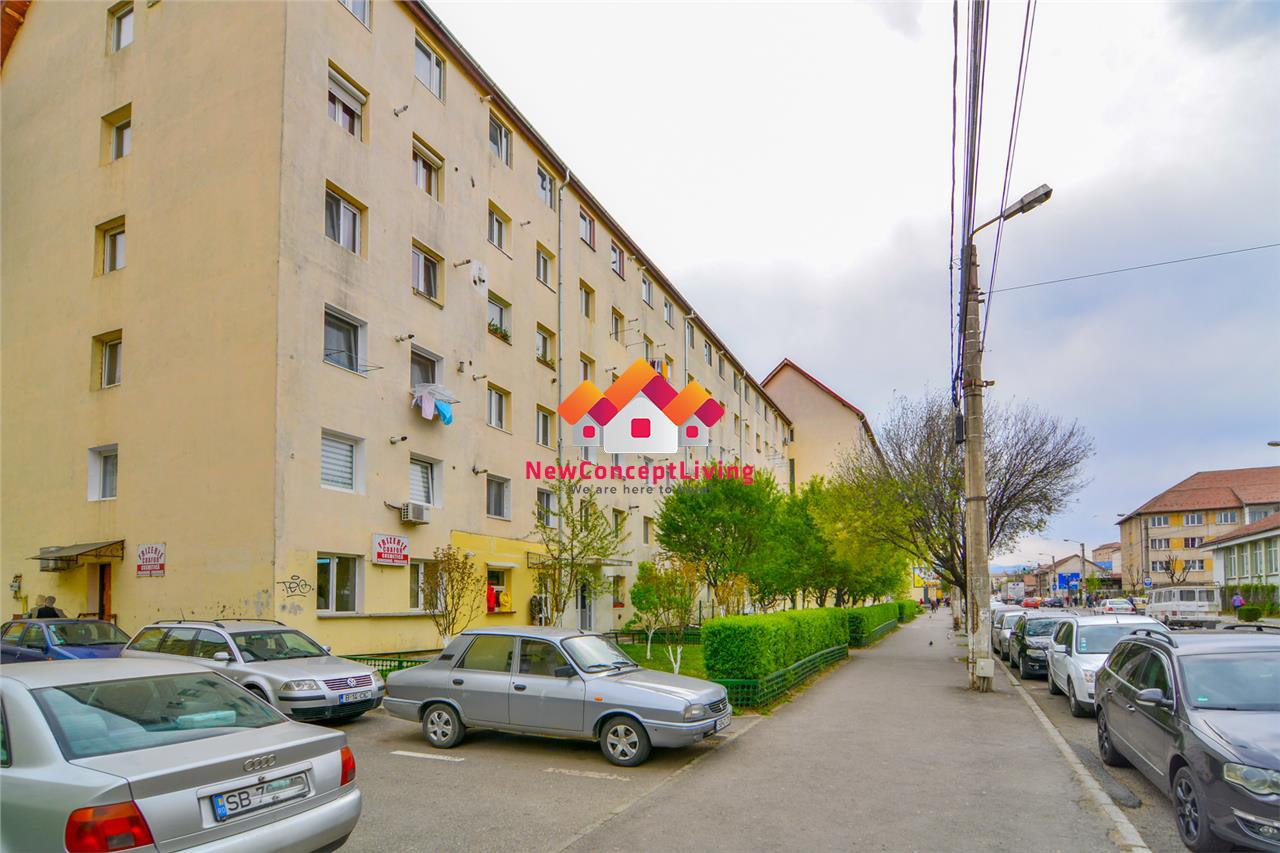 Garsoniera de vanzare in Sibiu- Decomandata