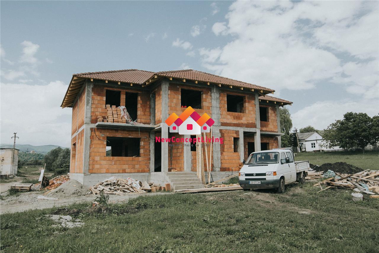Casa de vanzare in Cisnadie - tip Duplex - curte generoasa