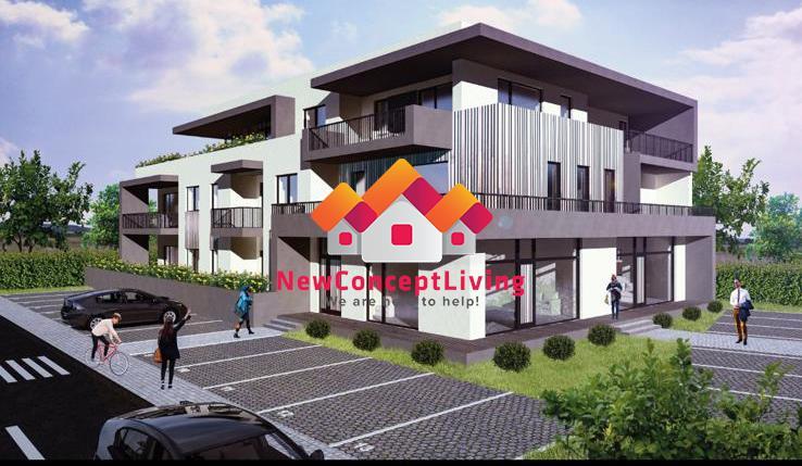 Apartament de vanzare in Sibiu 2 camere cu Terasa de 17 mp si Parcare