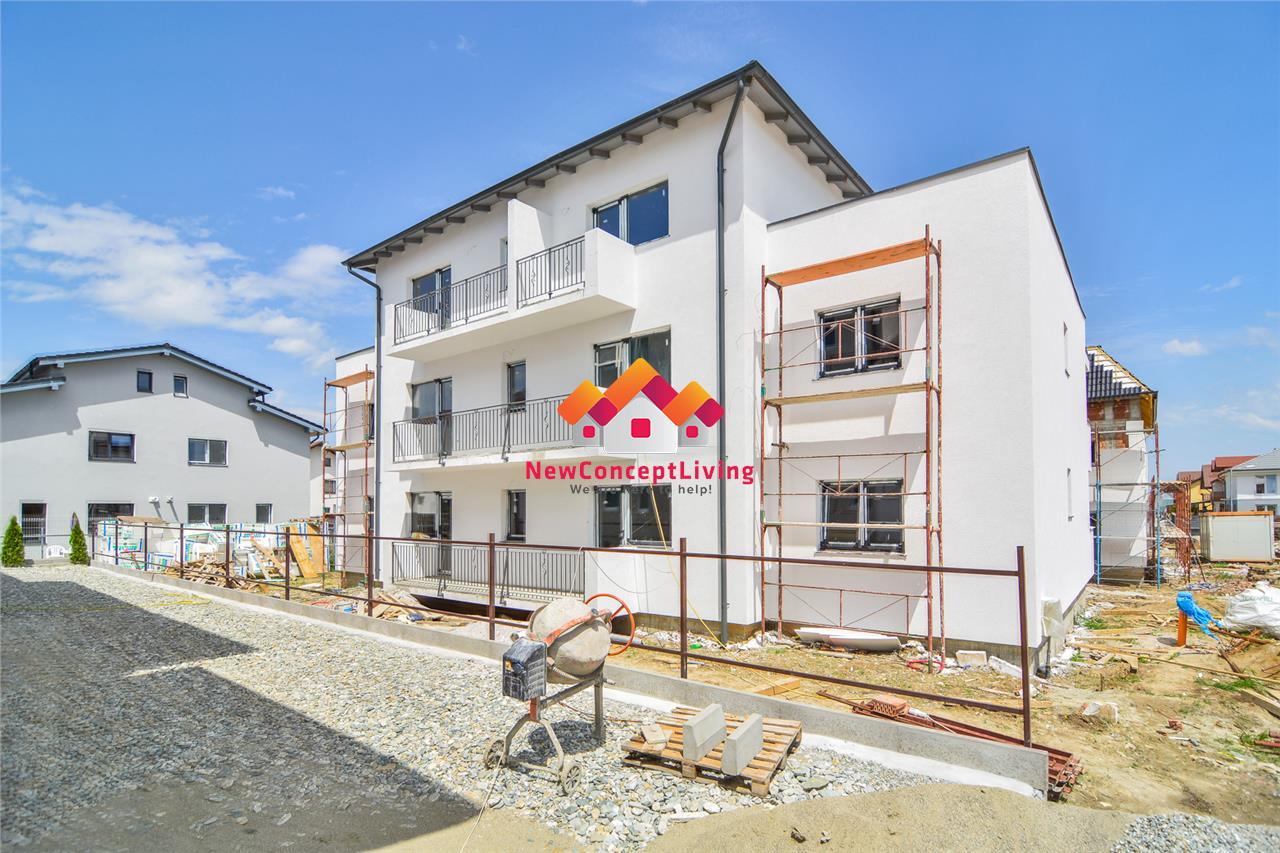 Apartament de vanzare in Sibiu 2 camere cu Balcon si Gradina