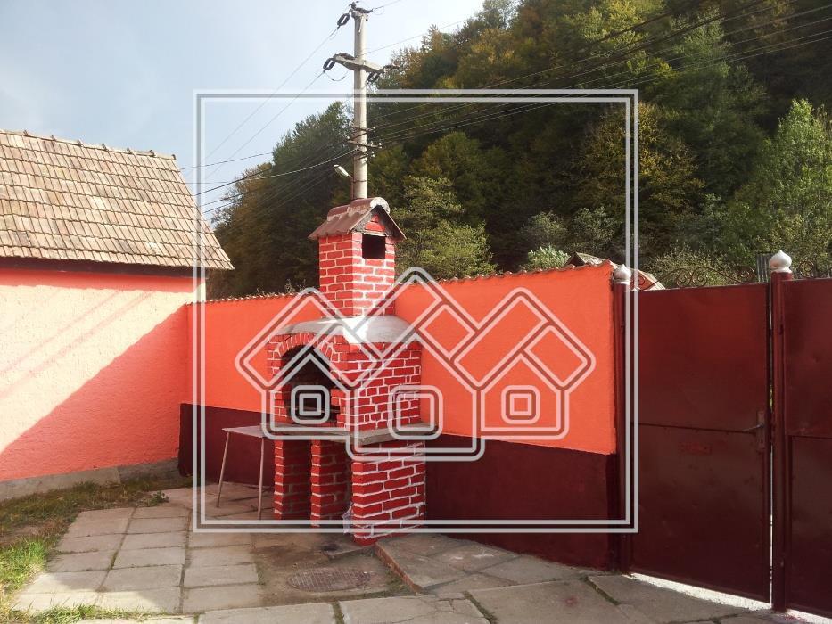 Pensiune de vanzare in Sibiu - Raul Sadului - 3408 mp teren