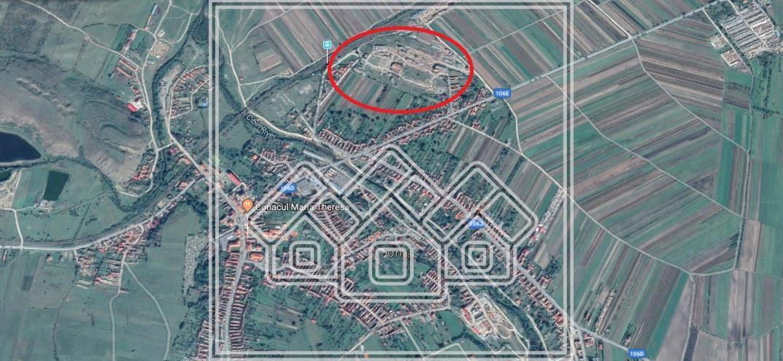 Teren de vanzare in Sibiu - zona Orlat - 28378 mp