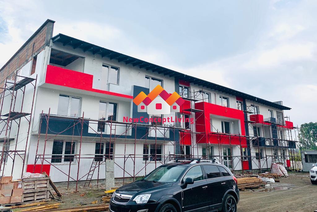 Apartament de vanzare in Sibiu-Cisnadie - 2 camere - 47.7 mp utili