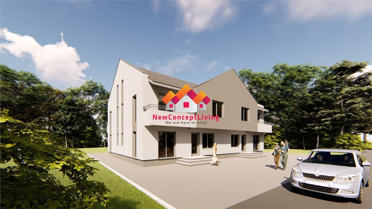 Casa de vanzare in Sibiu - curte libera 96 mp si pod mansardabil