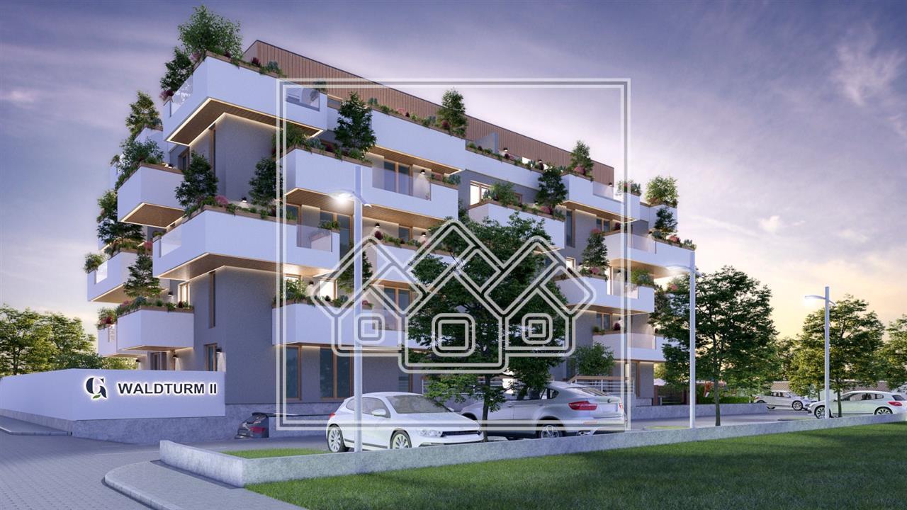 Apartament de vanzare in Sibiu - 2 Camere la Etajul 1 cu Terasa