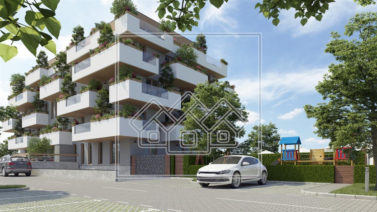 Apartament de vanzare in Sibiu - Etaj 1 cu Terasa de 22mp