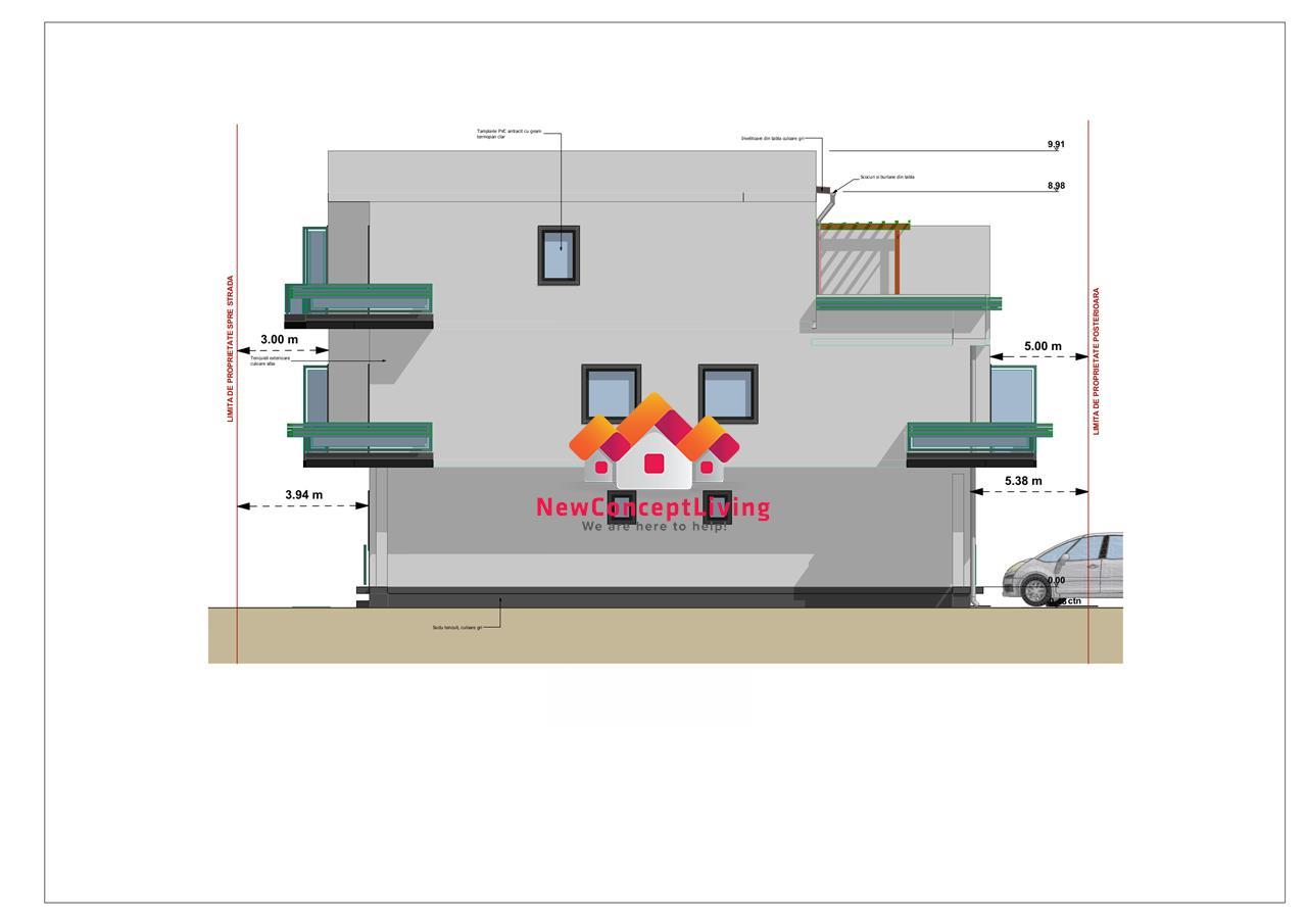 Apartament de vanzare in Sibiu - decomandat - etaj intermediar