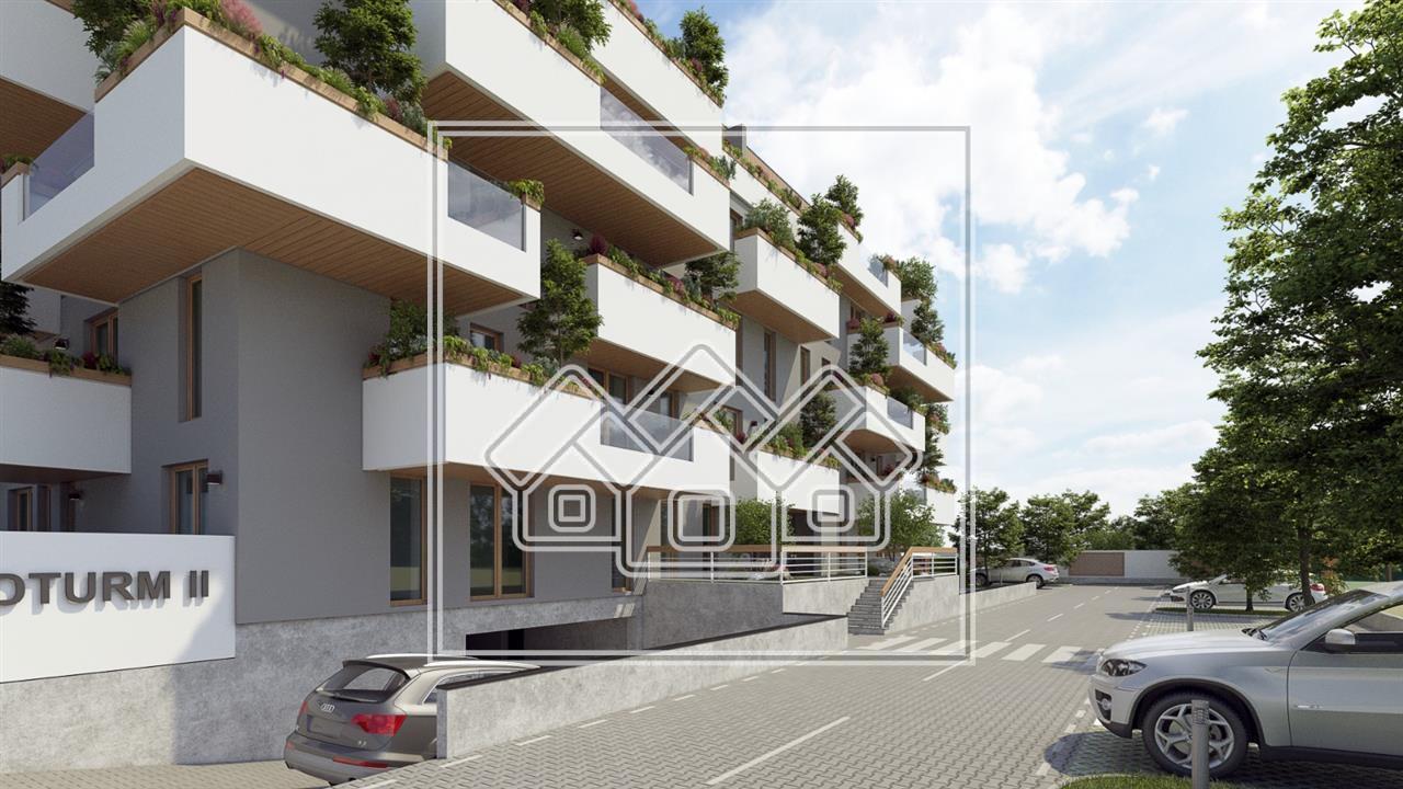 Apartament de vanzare in Sibiu cu 3 camere si 2 grupuri sanitare
