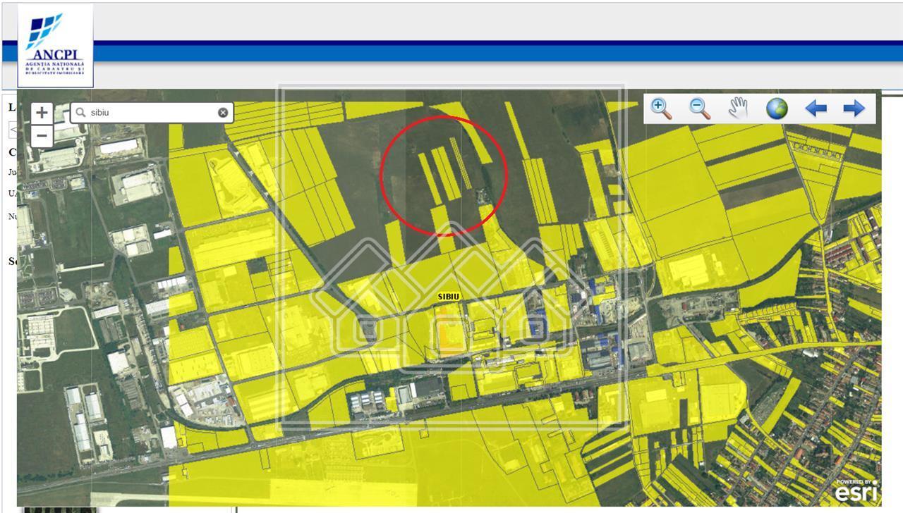 Teren de vanzare in Sibiu - Zona industriala de vest