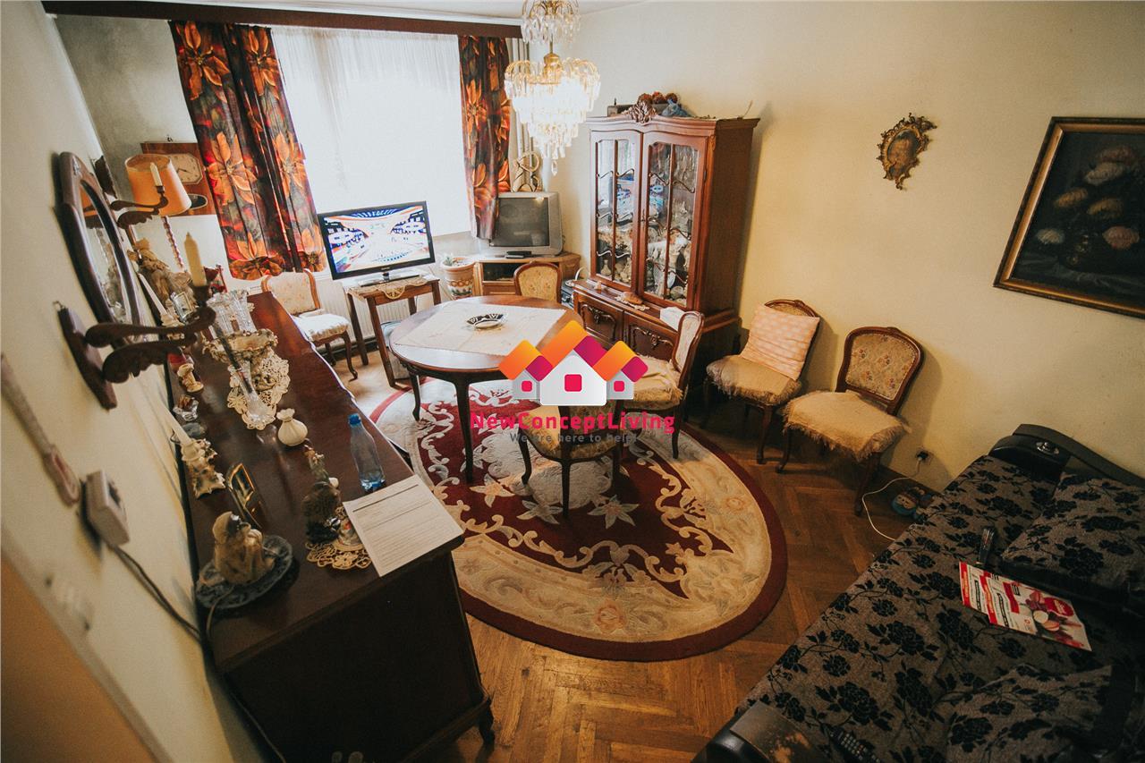 Apartament de vanzare in Sibiu - Etaj Intermediar cu Pivnita -V. Aaron