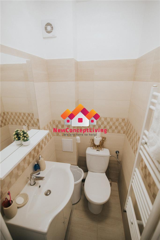 Apartament de vanzare in Sibiu-3 camere-mobilat si utilat- etaj 2