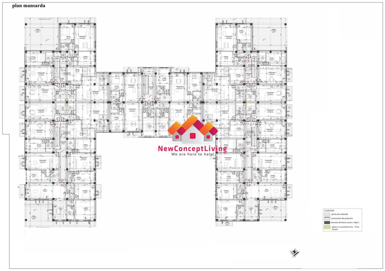 Apartament de vanzare in Sibiu - cu 2 camere - imobil nou
