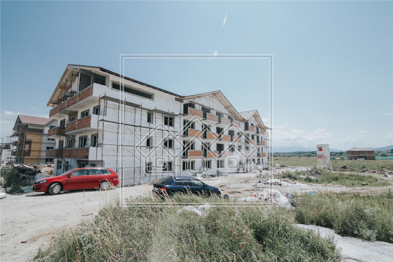 Garsoniera de vanzare in Sibiu - 30 mp plus balcon- Calea Cisnadiei