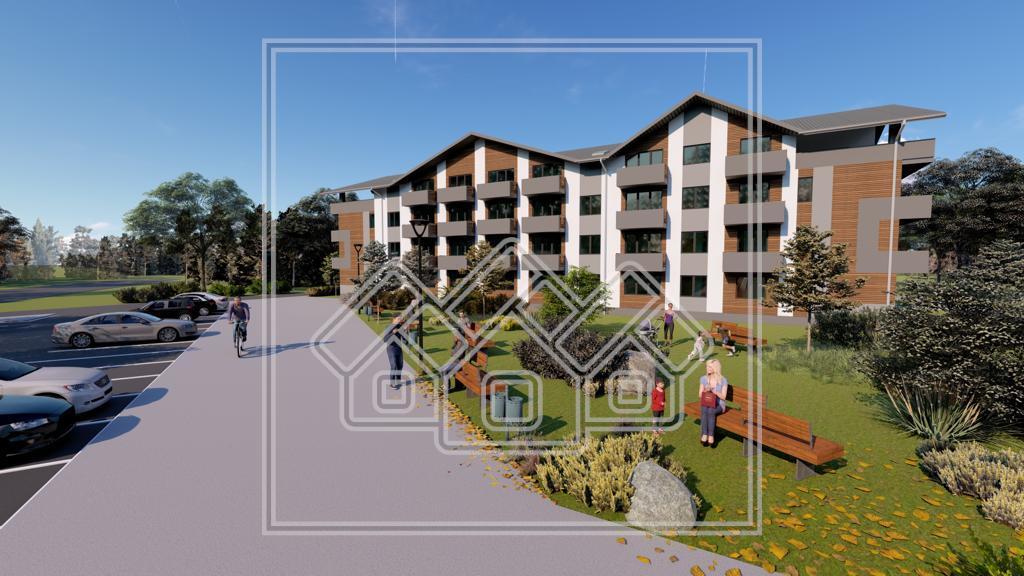 Apartament de vanzare in Sibiu - cu 2 camere  si gradina proprie