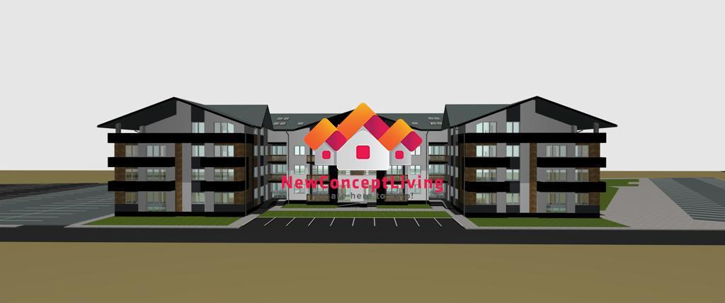 Apartament de vanzare in Sibiu - 2 camere si balcon 5.20 mp