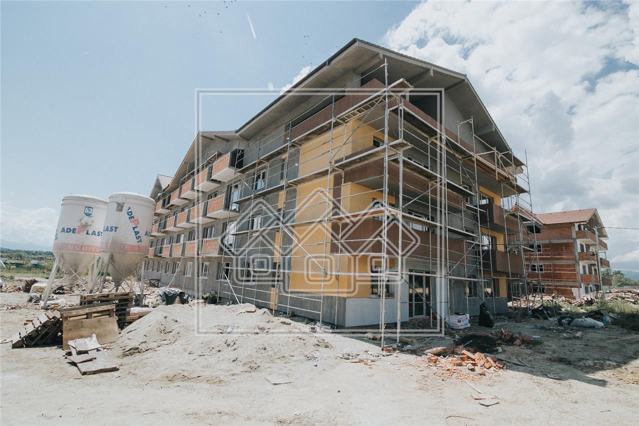 Apartament de vanzare in Sibiu - bucatarie separata si 2 balcoane