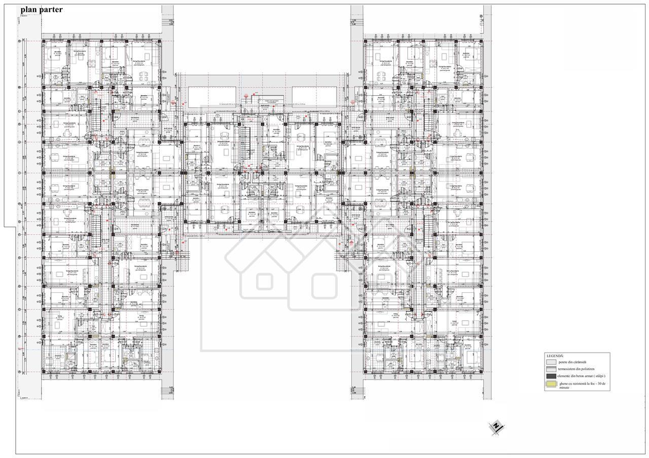 Apartament de vanzare in Sibiu - bucatarie separata si gradina de 84 m