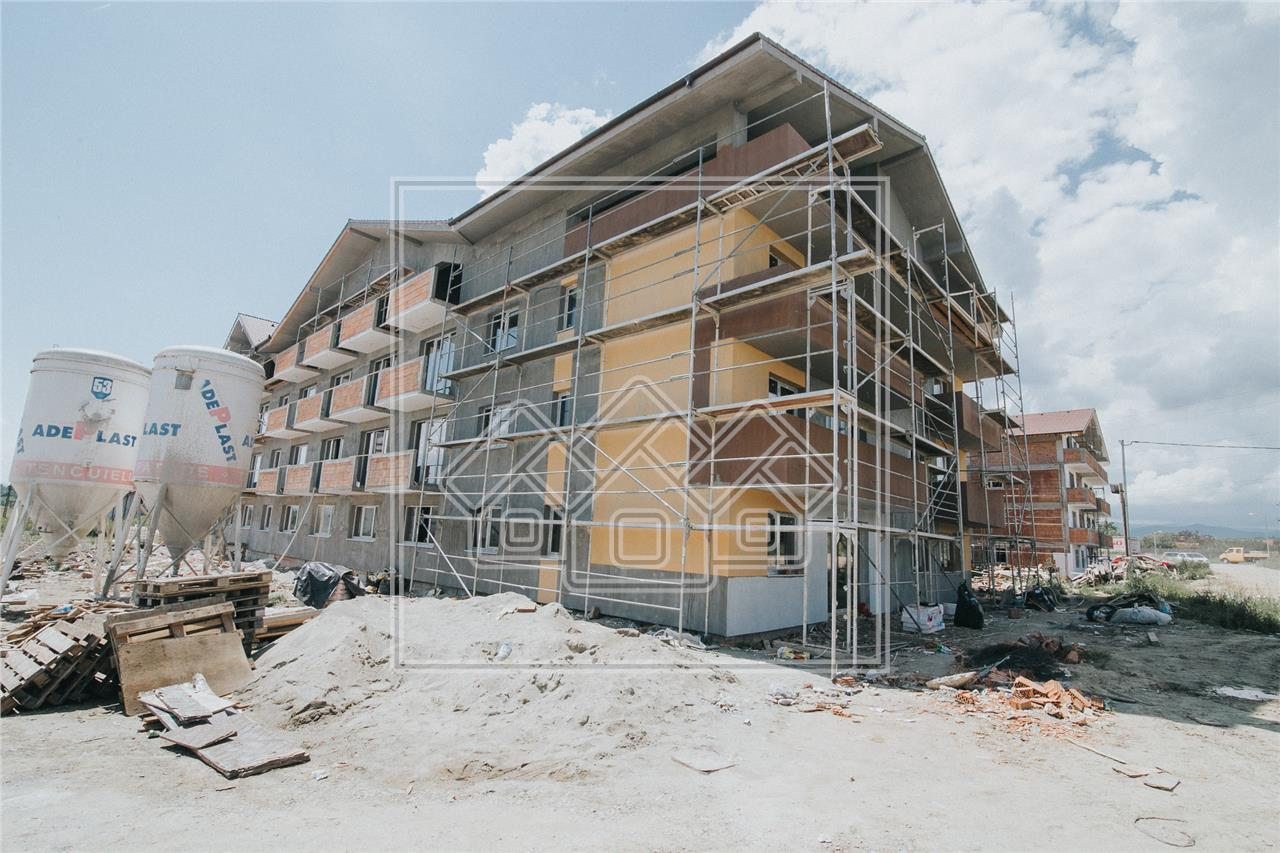 Apartament de vanzare in Sibiu - cu 2 balcoane - etaj intermediar