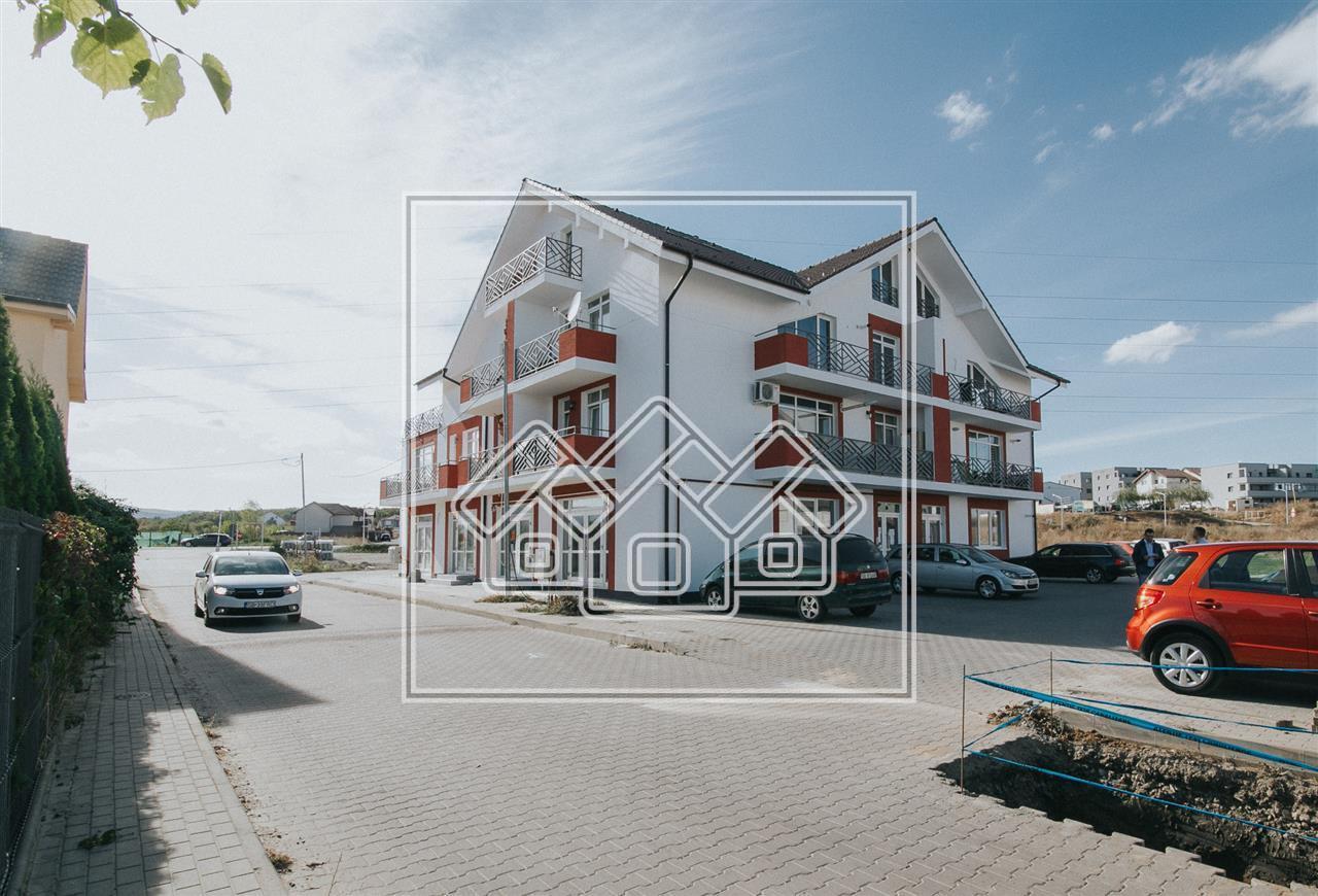 Spatiu comercial de inchiriat in Sibiu - nou - finisat la cheie