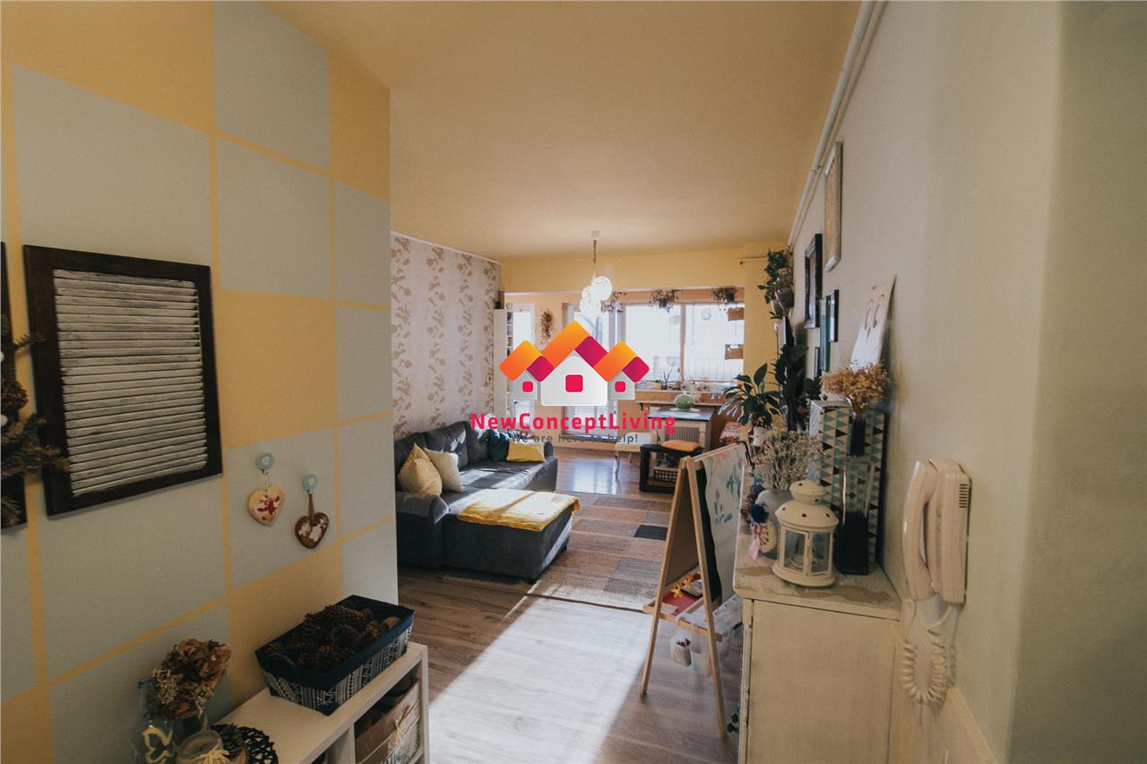 Apartament de vanzare in Sibiu -mobilat - terasa si balcon - Alma