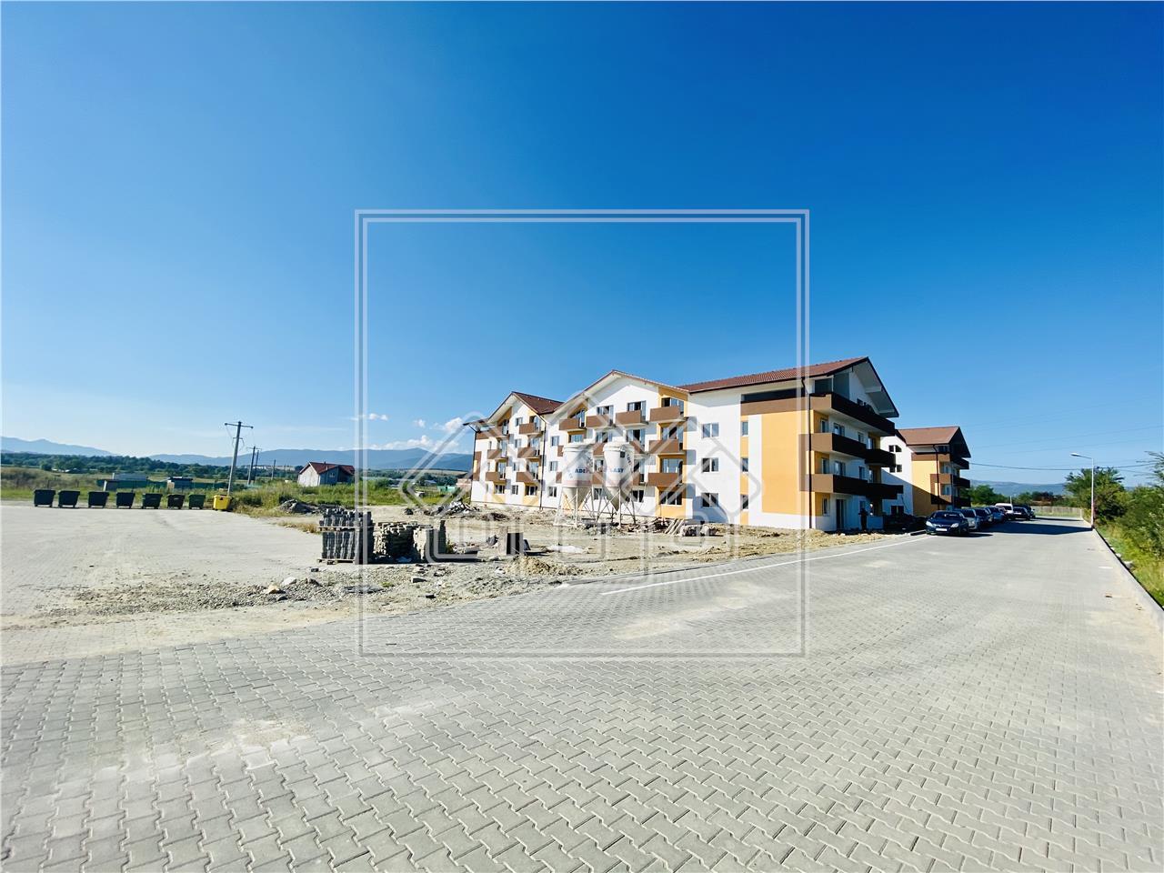 Apartament de vanzare in Sibiu - 3 camere, 2 bai -etaj intermediar