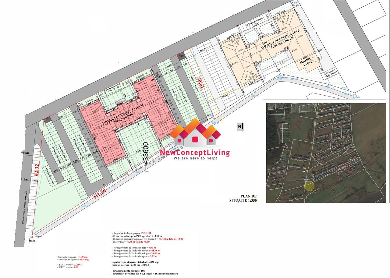 Apartament de vanzare in Sibiu - etaj intermediar - Calea Cisnadiei