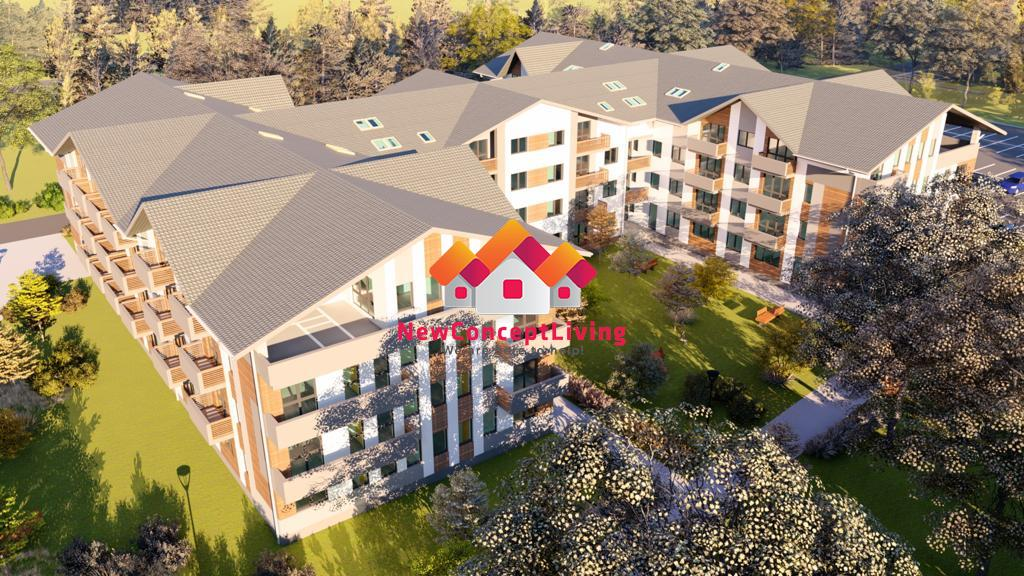 Apartament de vanzare in Sibiu - 3 camere, 2 bai si terasa de 59 mp