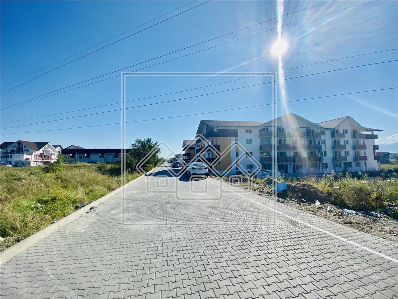 Apartament de vanzare in Sibiu - 3 camere si 2 bai - imobil nou