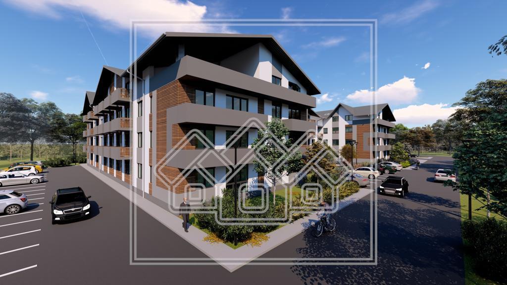 Apartament de vanzare in Sibiu - 3 camere, 2 bai si balcon