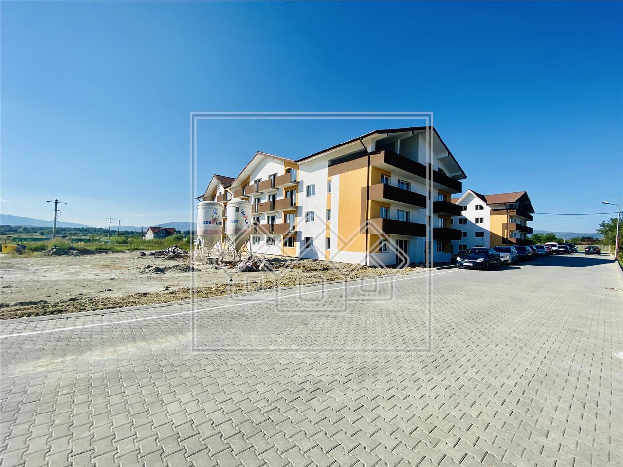 Apartament de vanzare in Sibiu - 2 camere - imobil cochet