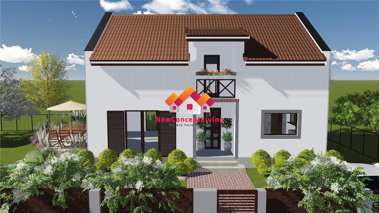 Casa de vanzare in Sibiu -individuala - cartier exclusiv de case