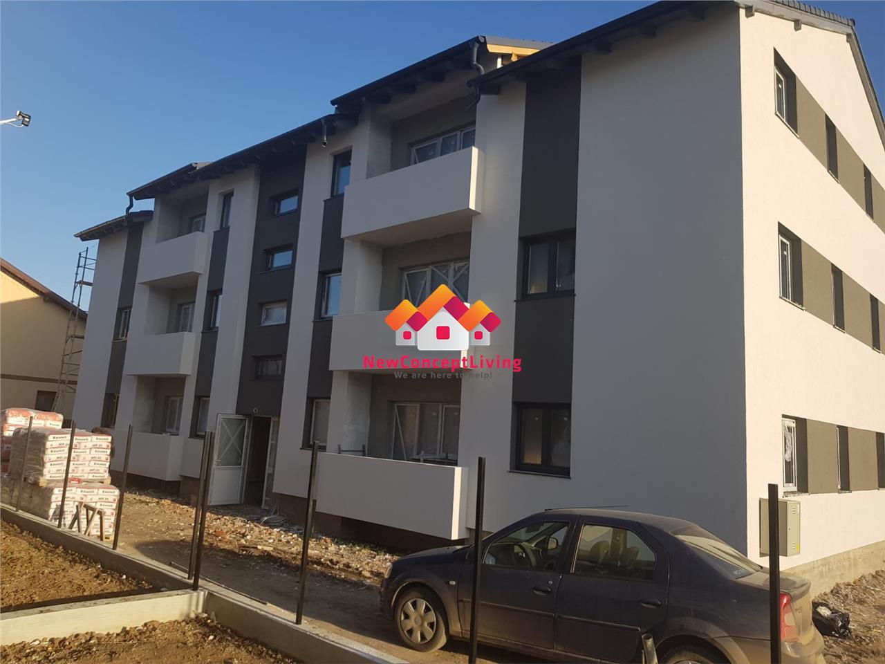 Apartament de vanzare 3 camere si gradina de 80 mp