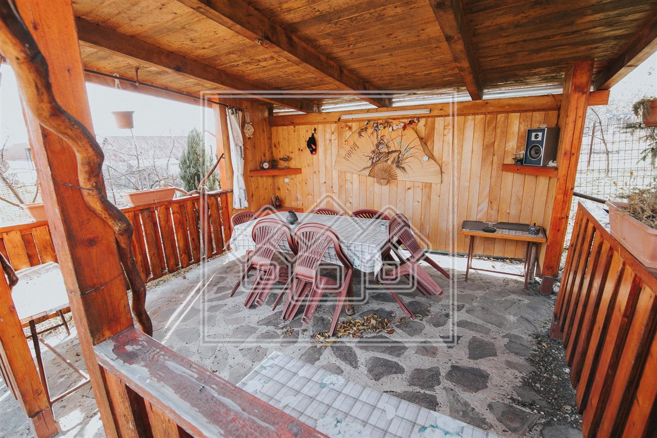 Casa de vanzare in Sibiu -zona Turnisor- cu gradina de 500 de mp