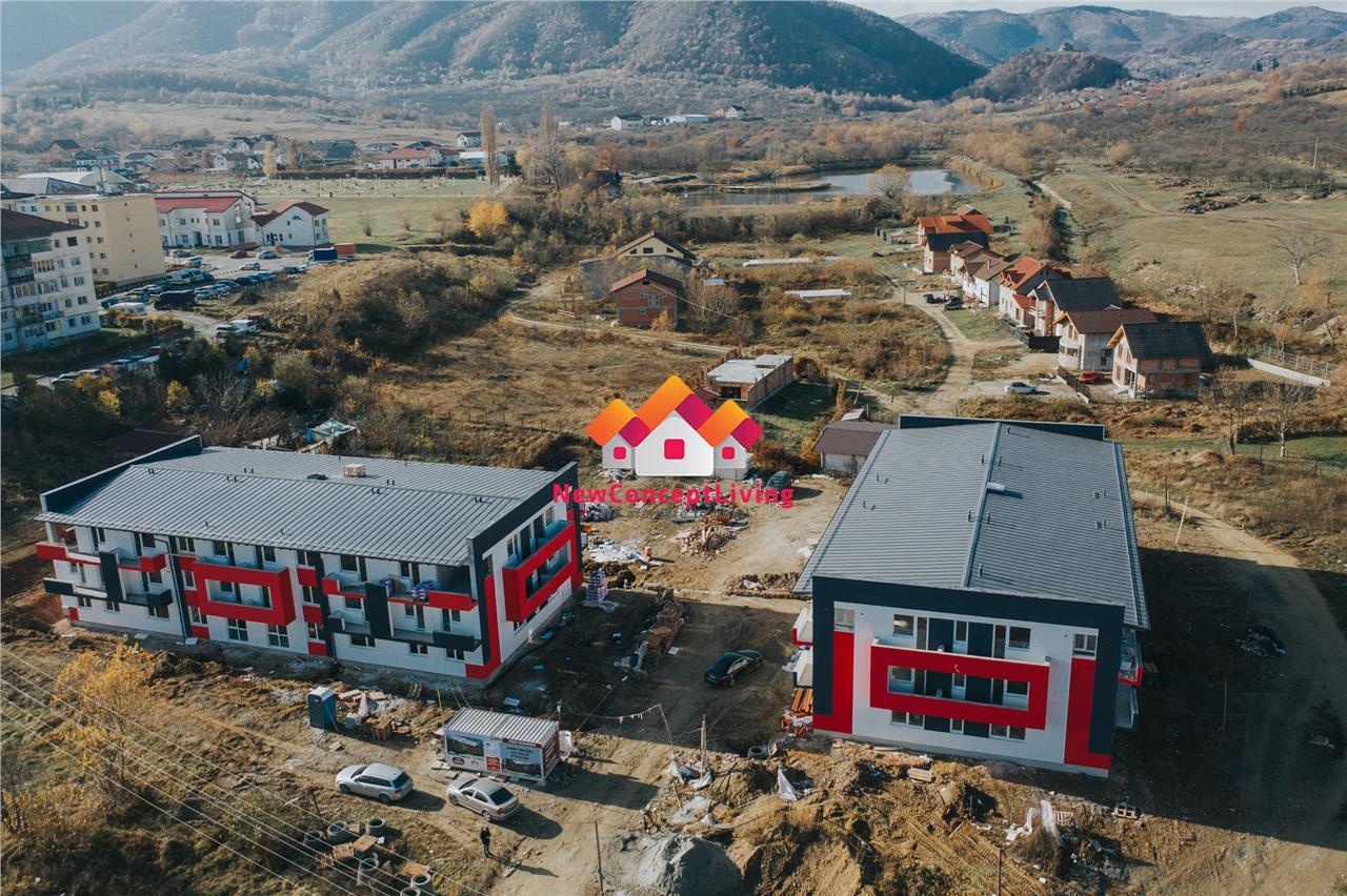 Apartament de vanzare in Sibiu - (Cisnadie) -2 camere- 40.4 mp utili