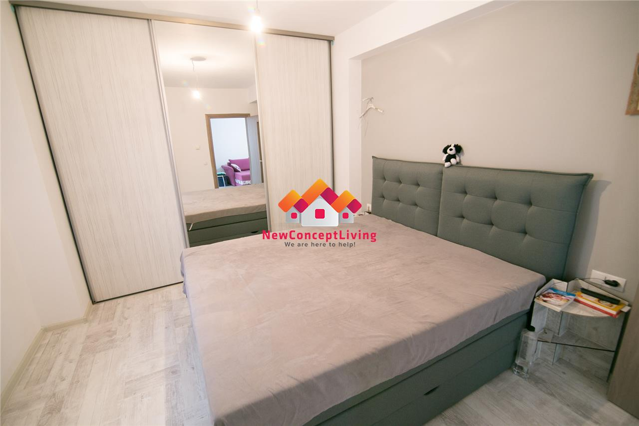 Apartament de vanzare in Sibiu - 3 camere - mobilat si utilat de lux