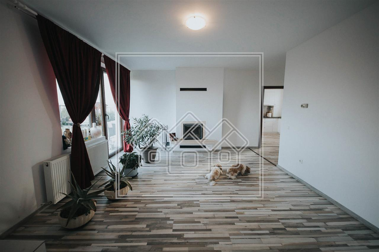 Casa individuala de vanzare in Sibiu - Sura Mica - Cartier nou de case