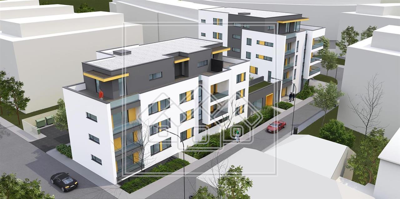 Apartament de vanzare in Sibiu-3 camere, bucatarie separata si balcon