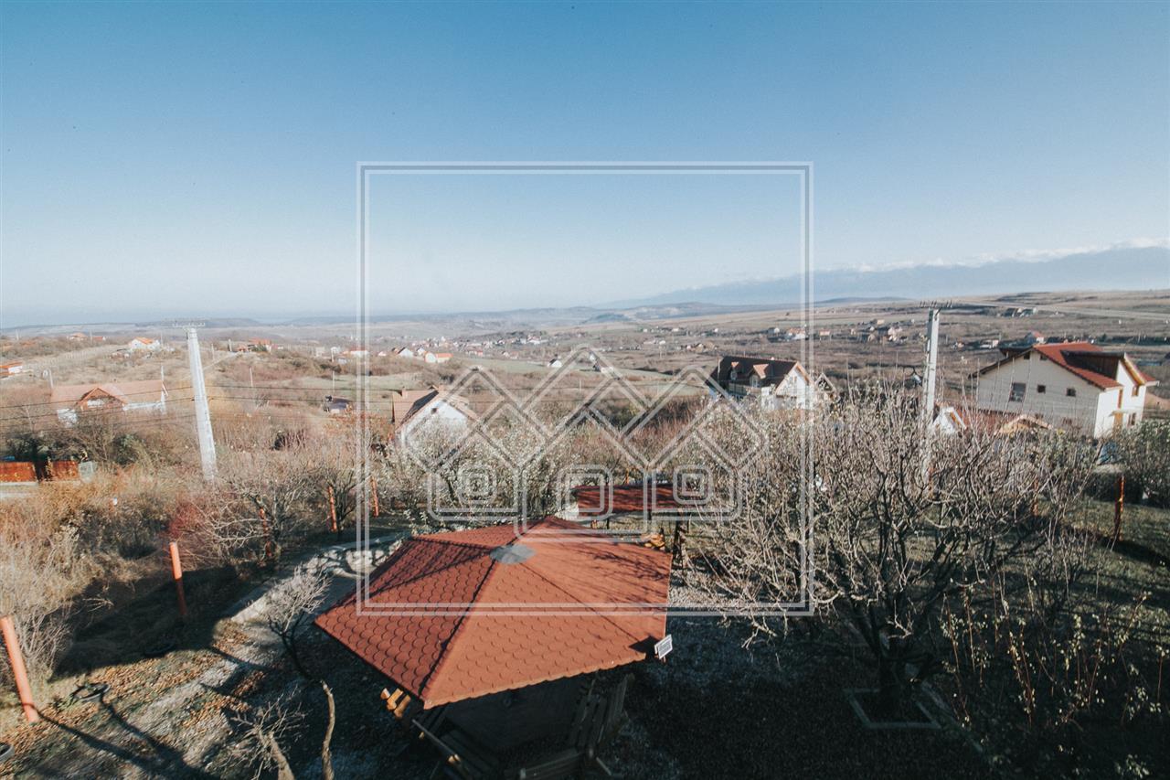Casa de vanzare in Sibiu- Daia Noua 5 camere- si 1500 de mp