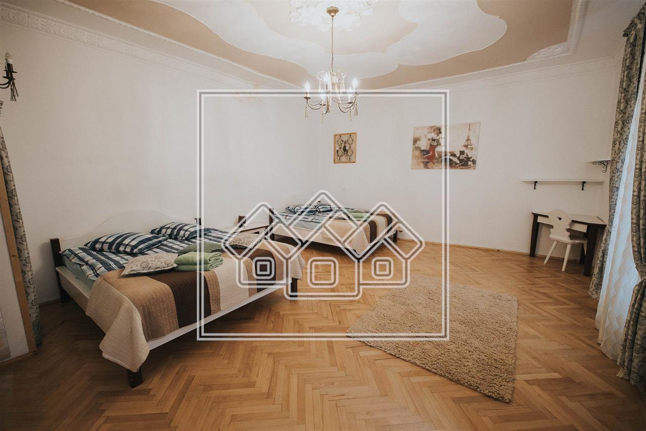 Apartament de vanzare in Sibiu, afacere regim hotelier, etaj 1