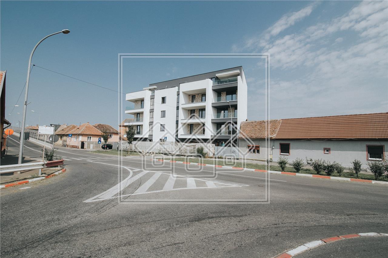 Penthouse de vanzare in Sibiu cu 3 camere-106 mp utili si terasa 40 mp