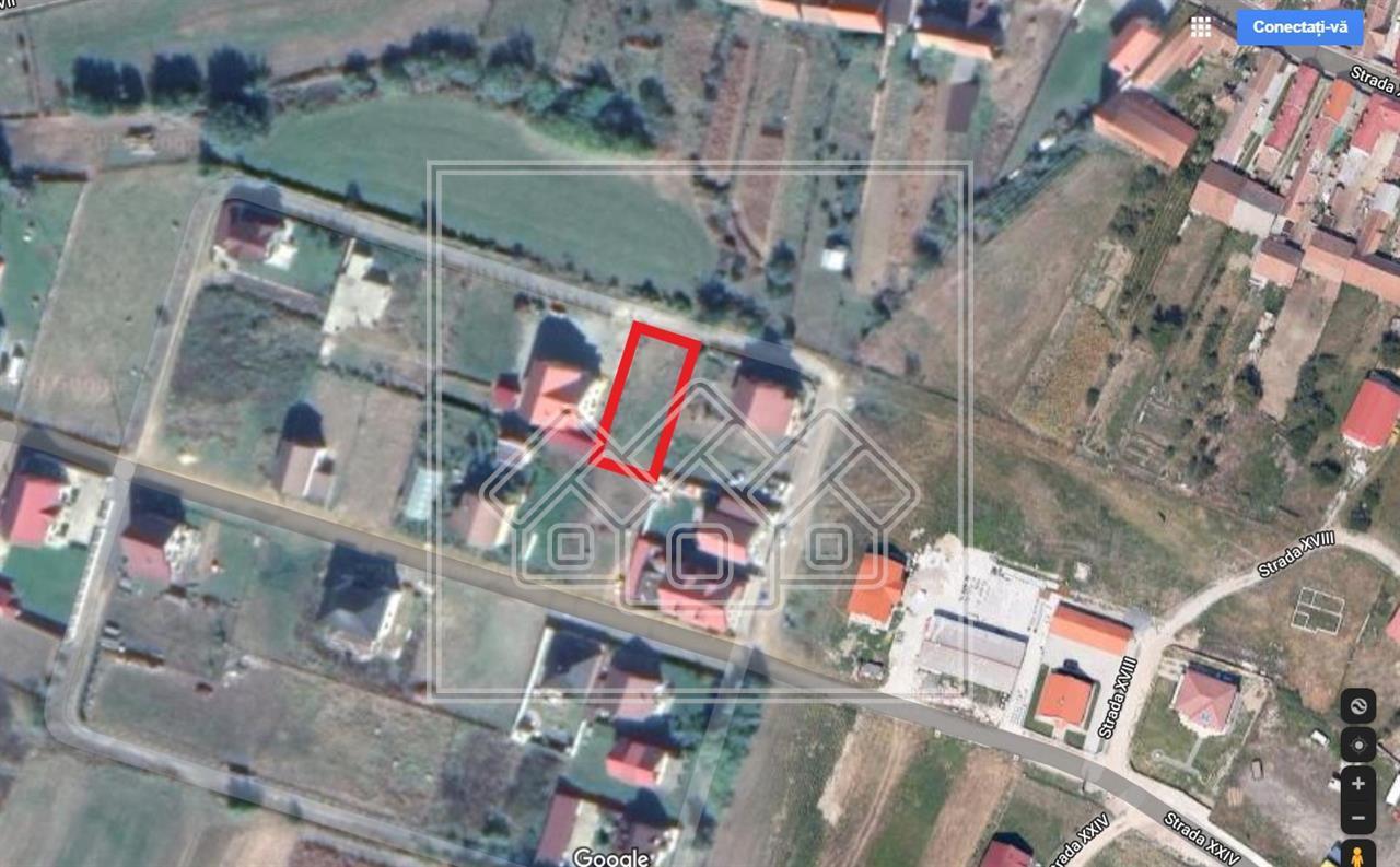Teren de vanzare in Sibiu - Cristian - Intravilan - 495 mp