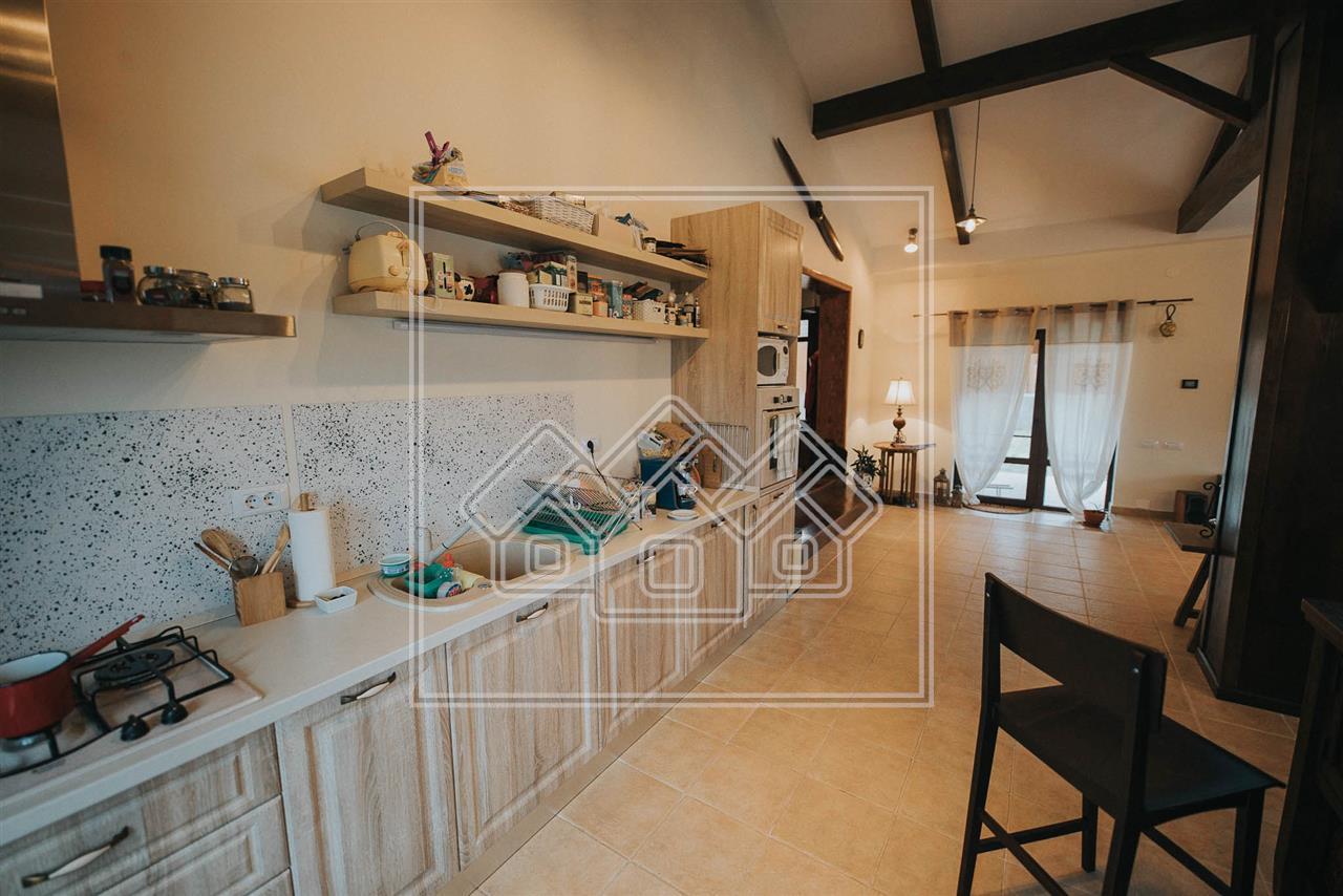 Casa individuala de inchiriat in Sibiu - Cisnadie - confort LUX