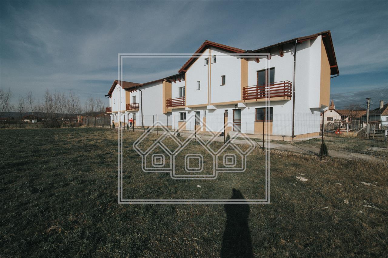 Casa de vanzare in Sibiu-Cristian - 4 camere - finisata la cheie