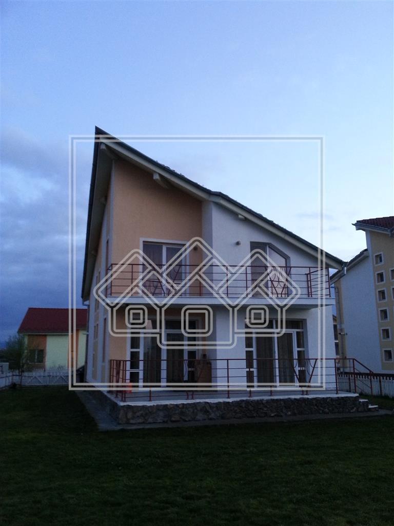 Casa de vanzare in Sibiu-Sura Mica cu gradina de 500 mp-Complex Eden-