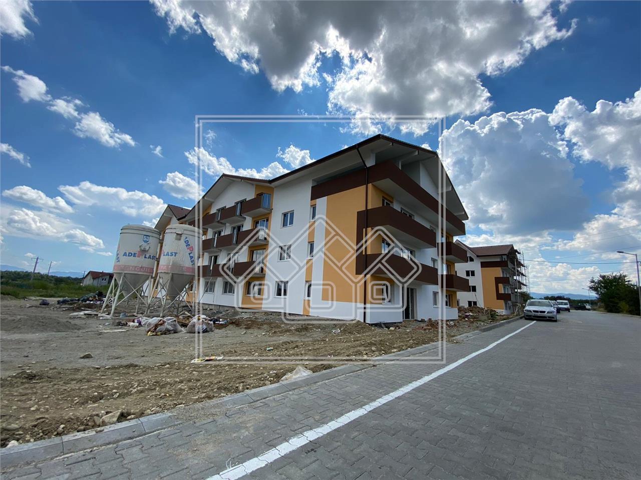Apartament de vanzare in Sibiu - 2 camere - balcon - (R)